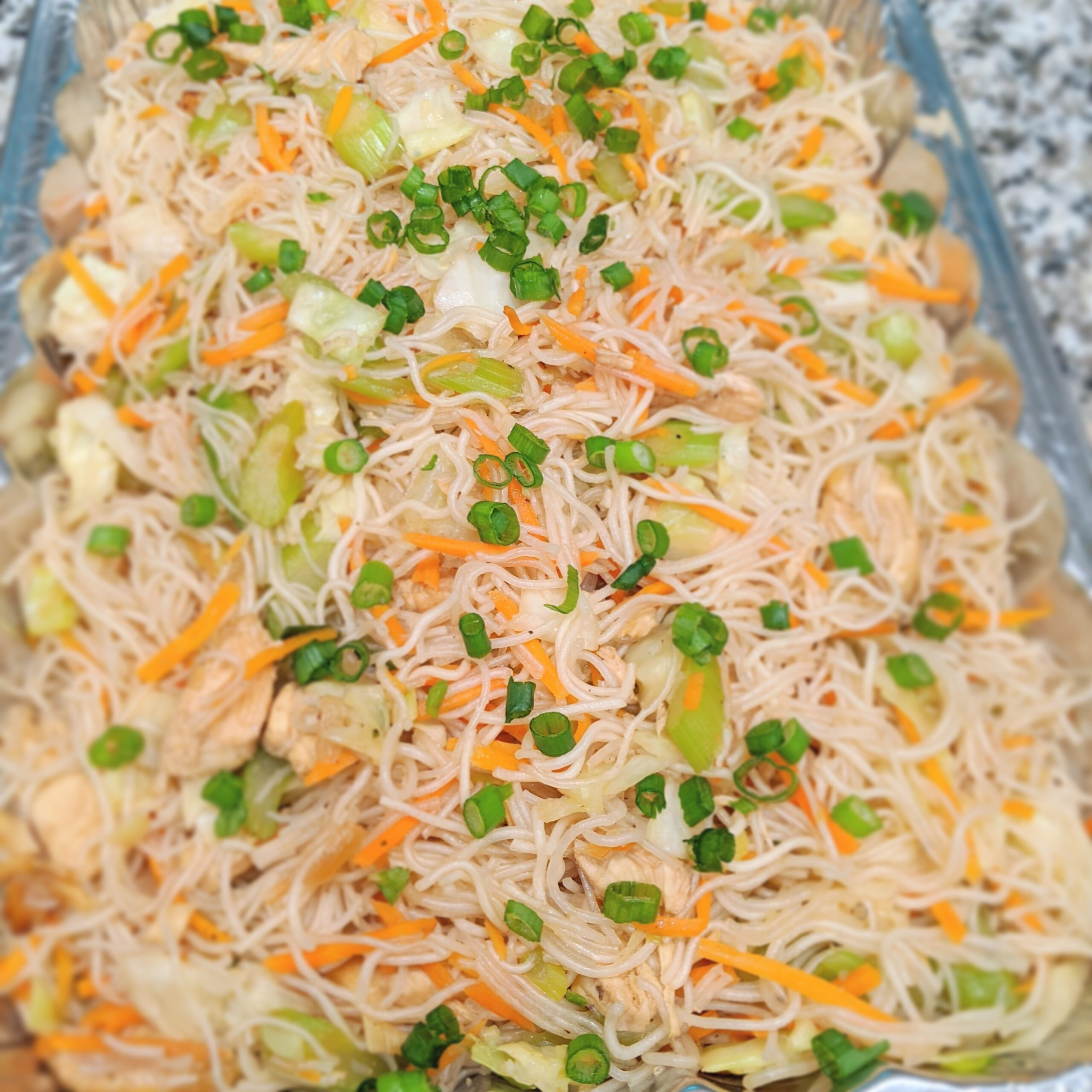 Chicken Pancit Bihon